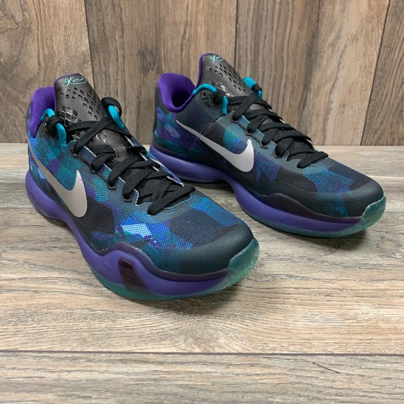 quality design 764f5 6ad49 Nike Shoes | Kobe X Overcome Emerald Purple Basketball | Poshmark